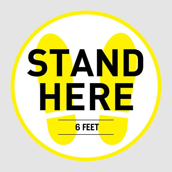 FloorDots_StandHere_circle