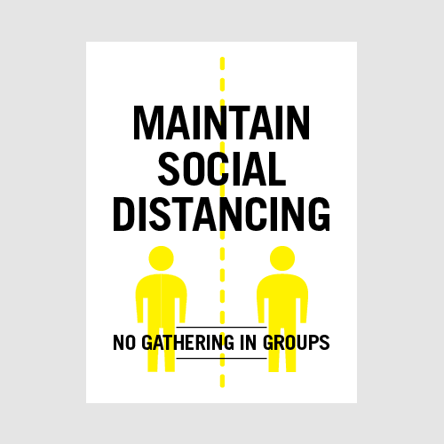 Poster_MaintainSocial
