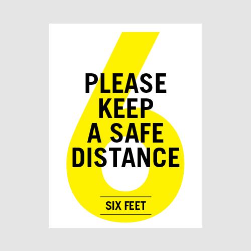 Poster_SafeDistance