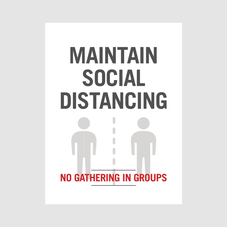Poster_maintain social_office_white