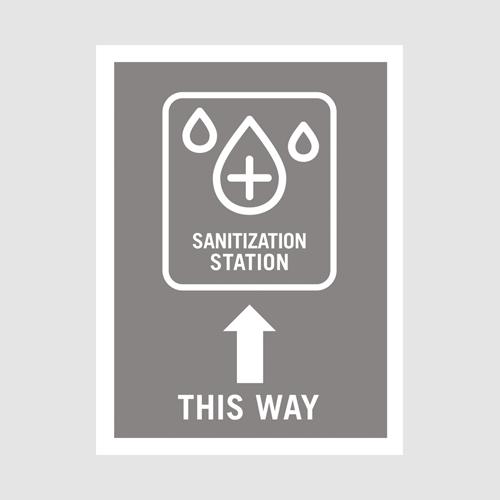 Poster_sanitize station_gray office up