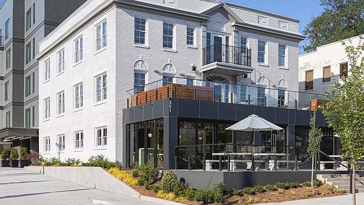 Wylie Hotel-Daytime Exterior