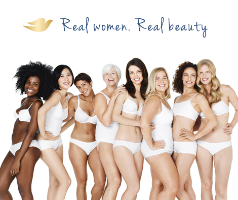 dove real women real beauty